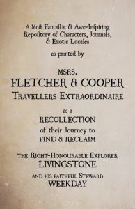 Fletcher & Cooper Title Page
