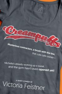 The paperback cover of Creampuffs