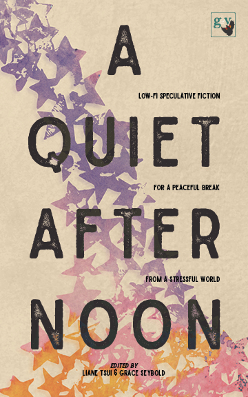 "The cover of the ""A Quiet Afternoon"" anthology"